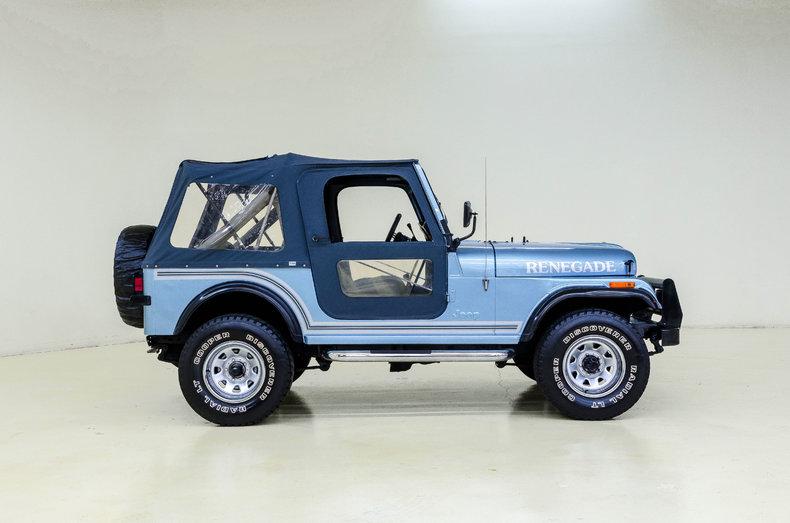 1984 1984 Jeep CJ7 Renegade For Sale
