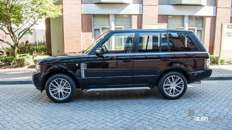 2011 Land Rover Range Rover Autobiography Black