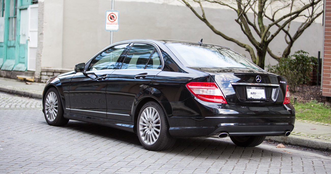 2010 Mercedes Benz C250 4matic Autoform