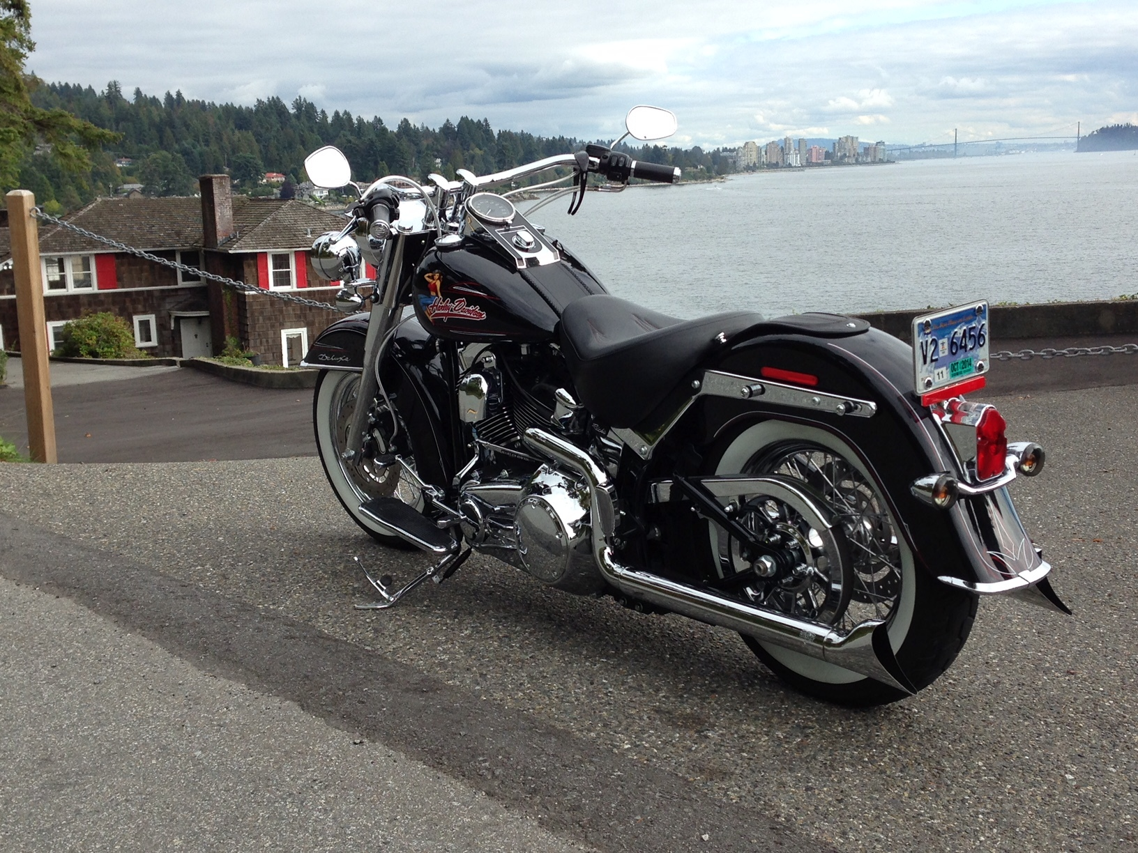 2008 Harley Davidson Softail Deluxe Flstn Autoform