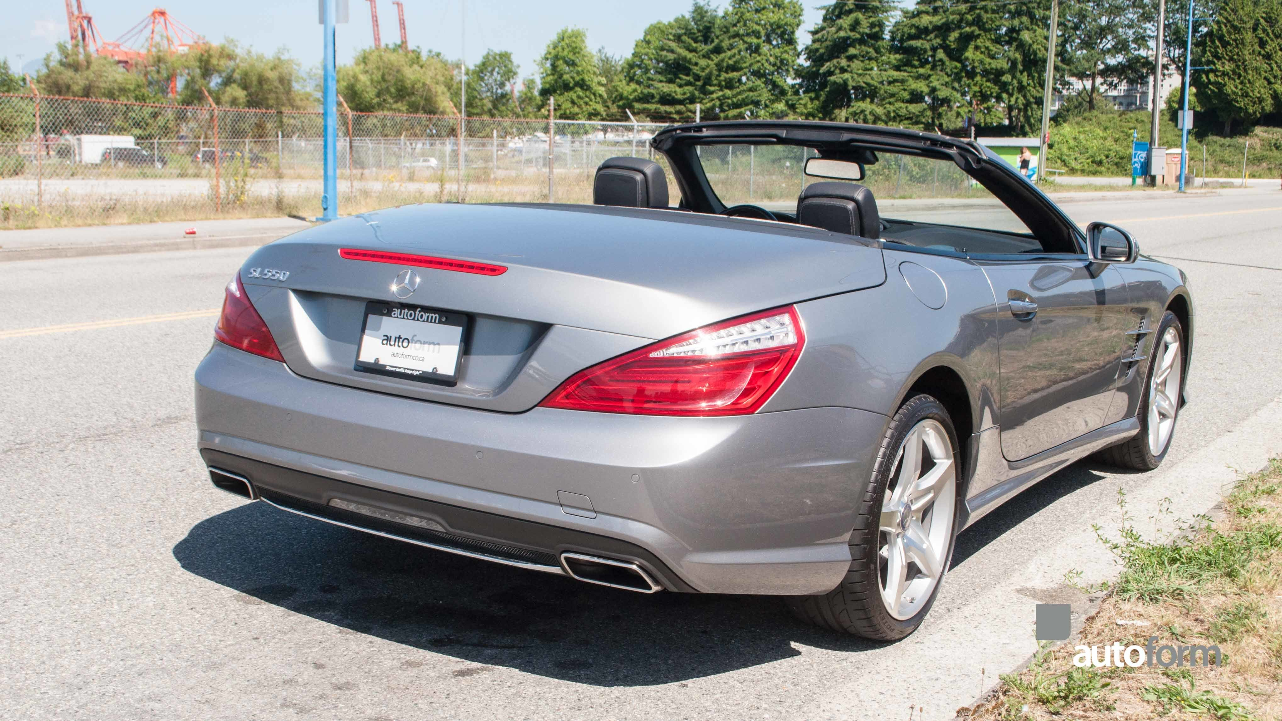 2013 mercedes benz sl550 autoform for Mercedes benz vancouver