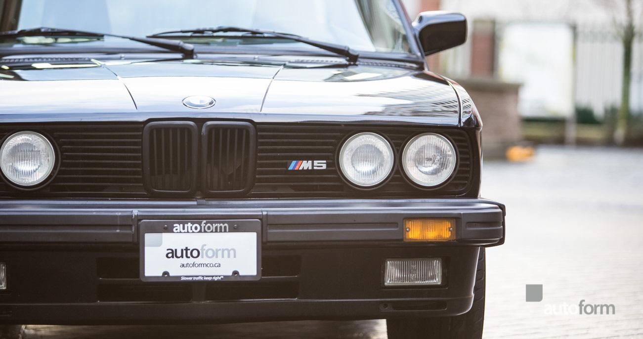 1988 BMW M5 autoform