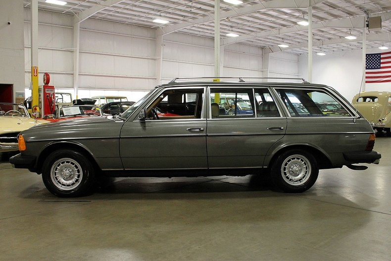 1981 mercedes benz 300td turbo diesel gr auto gallery for Most reliable mercedes benz models