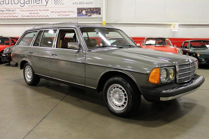 1981 mercedes benz 300td turbo diesel gr auto gallery for Mercedes benz 300td