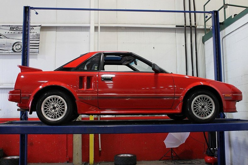nice 1986 mr2 for sale on bat mr2 owners club message board. Black Bedroom Furniture Sets. Home Design Ideas