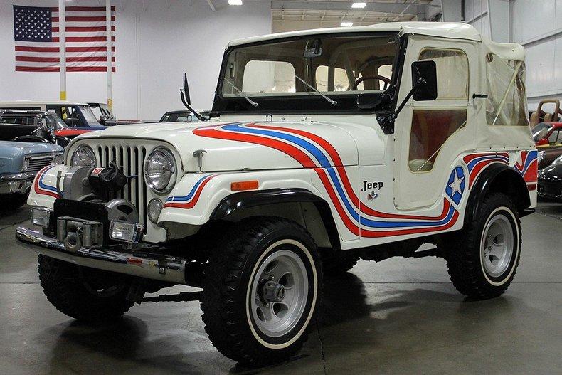 1973 Jeep Cj 5 Gr Auto Gallery