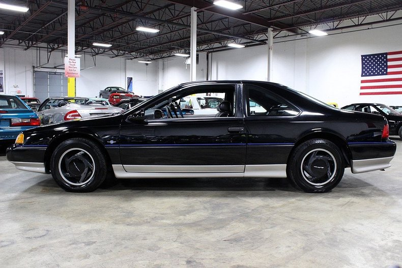 1990 Ford Thunderbird Super Coupe on ford 3 8 supercharged engine
