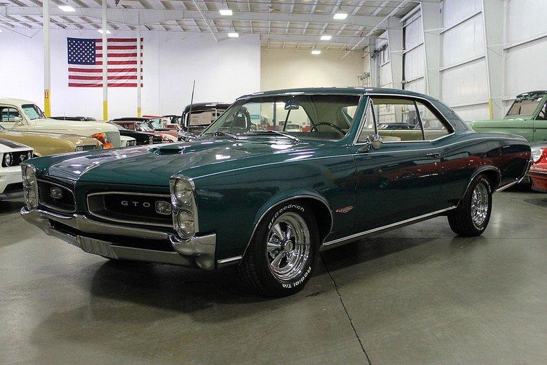 1966 Pontiac GTO  GR Auto Gallery