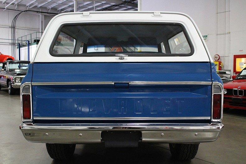 1972 Chevrolet Blazer My Classic Garage