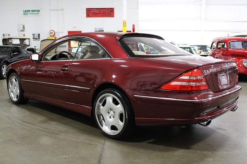 2000 mercedes benz cl500 gr auto gallery. Black Bedroom Furniture Sets. Home Design Ideas