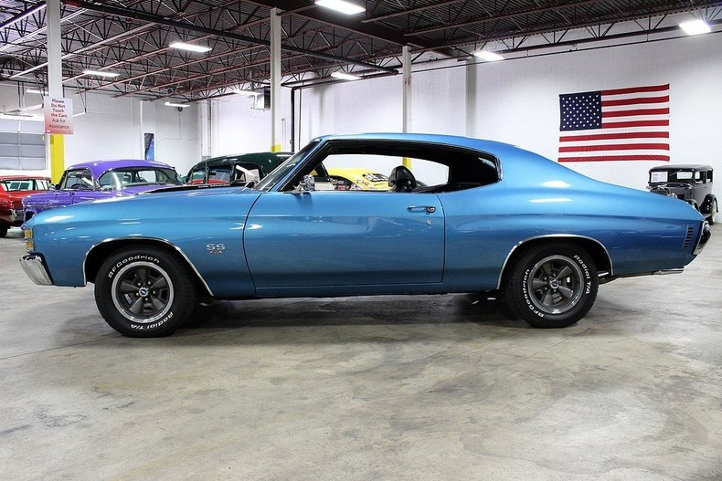 1971 Chevrolet Chevelle Ss Gr Auto Gallery
