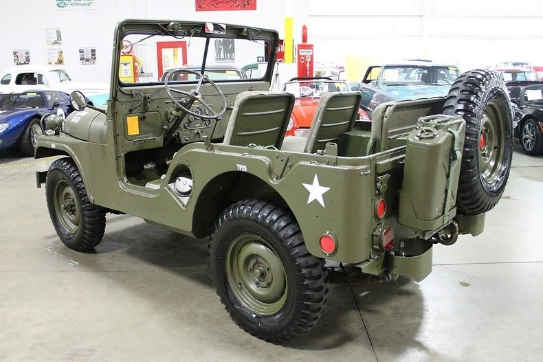 Jeep Build And Price >> 1955 Willys Military Jeep | GR Auto Gallery