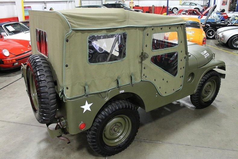 1955 1955 Willys Military Jeep For Sale