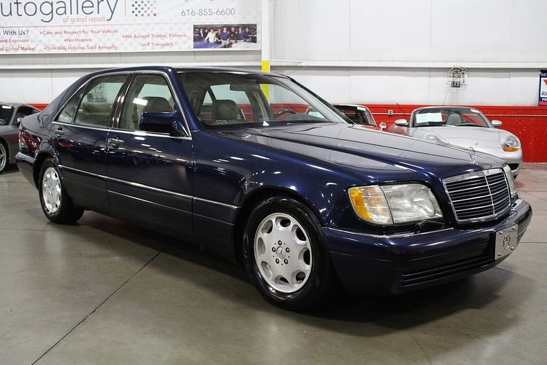 1995 mercedes benz s420 gr auto gallery for Mercedes benz grand rapids