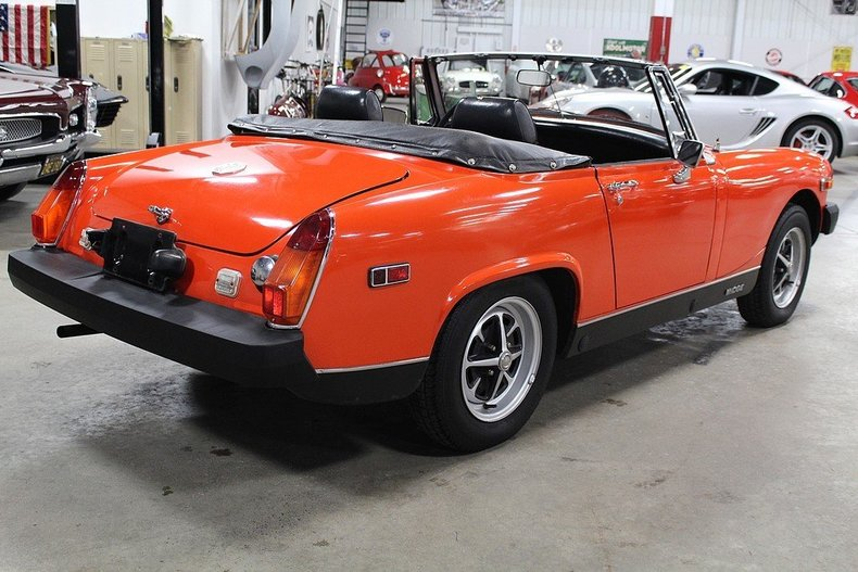 Round hot specifications for 1978 mg midget vid