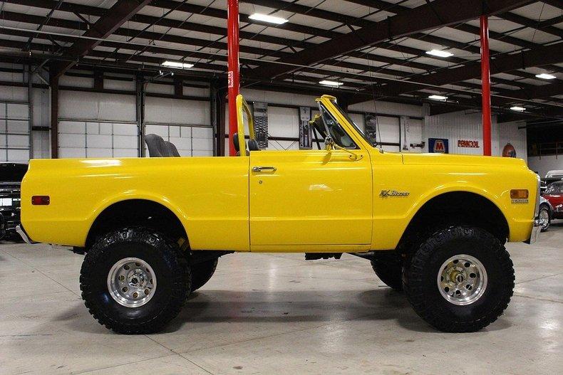 1969 Chevrolet Blazer My Classic Garage