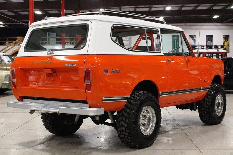 1975 International Scout II   Motorcar Studio