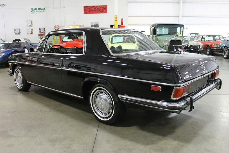 1972 mercedes benz 250c gr auto gallery for Mercedes benz 250c