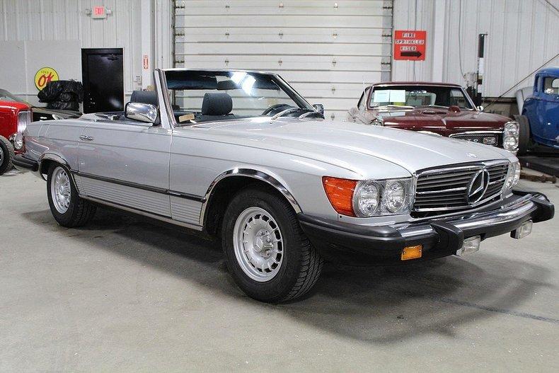 1982 Mercedes Benz 380sl Gr Auto Gallery