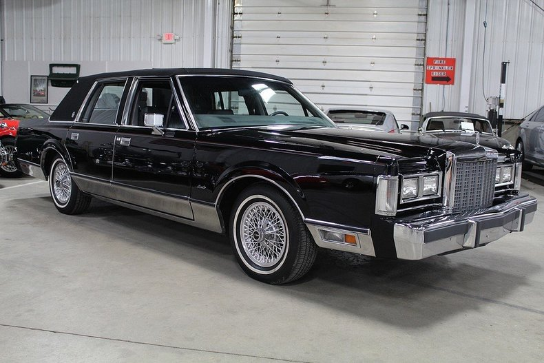 1985 Lincoln Town Car Gr Auto Gallery