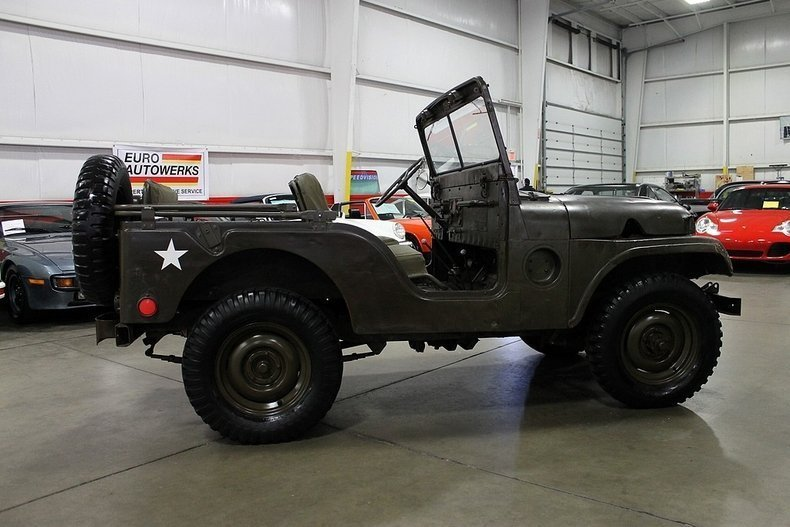 1954 1954 Willys Military Jeep For Sale