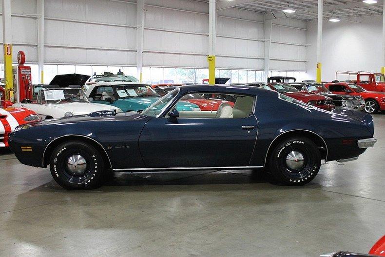 1973 Pontiac Firebird Formula Super Duty 455 Gr Auto Gallery