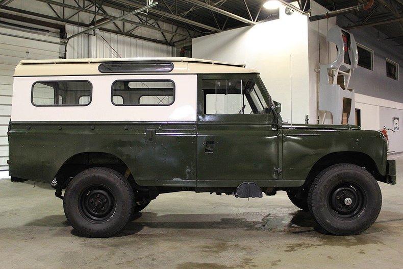 1971 Land Rover Series Iia My Classic Garage