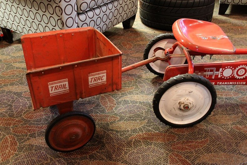 Tractor Pedal Car Parts : Quot murray pedal tractor with trailer gr auto gallery