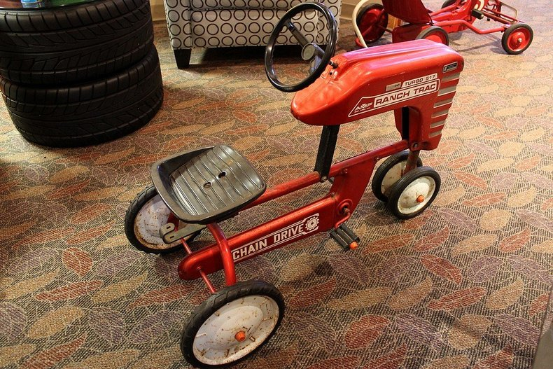 Tractor Pedal Car Parts : Quot amf ranch trac pedal tractor gr auto gallery