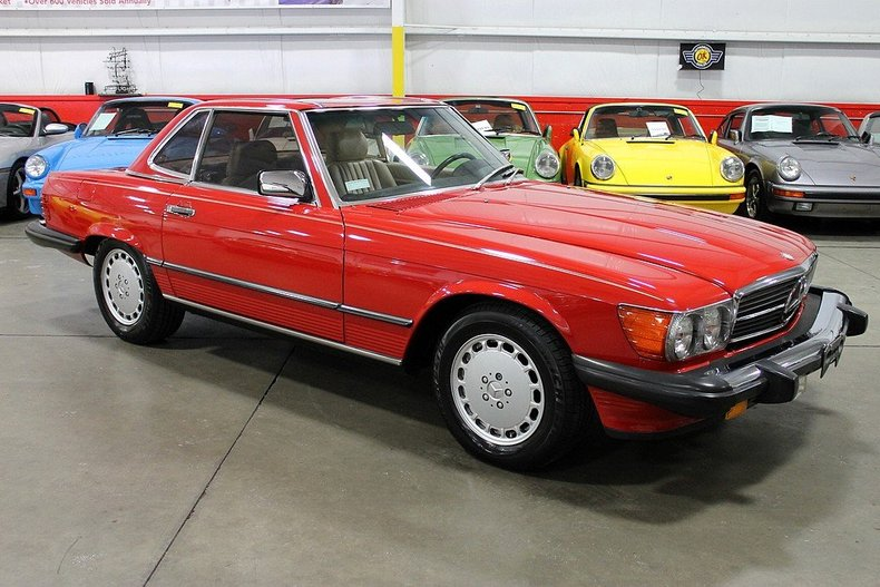 Find used 1989 mercedes 560sl both tops only 16k miles for Mercedes benz grand rapids mi