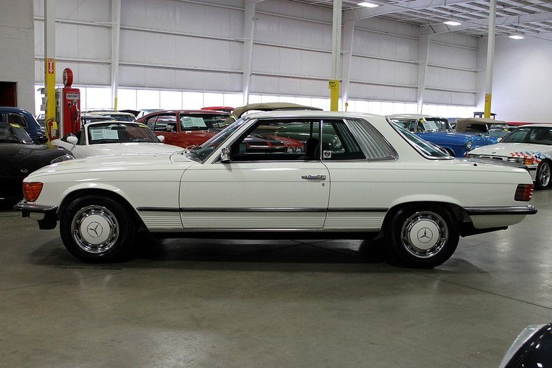 Purchase used 1980 mercedes 450 slc rare 5 0 classic coupe for Mercedes benz for sale in grand rapids mi