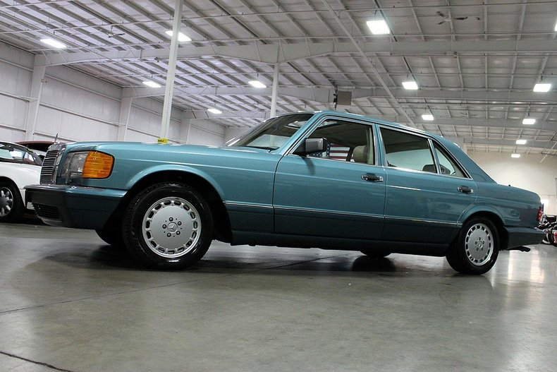 Purchase used 1991 mercedes 560sel only 31 818 one of the for Mercedes benz grand rapids