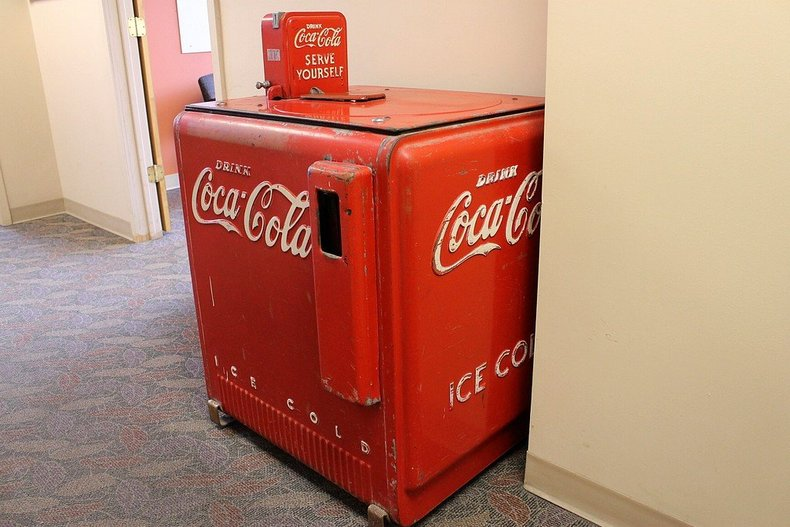 self serve coke machine