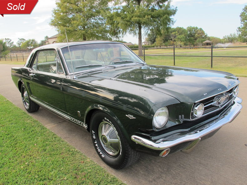1965 Ford Mustang GT 4Speed