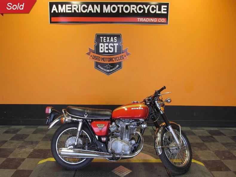1974 Honda CB450