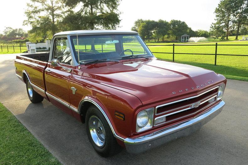 1968 Chevrolet C-10 1/2 ton pick up