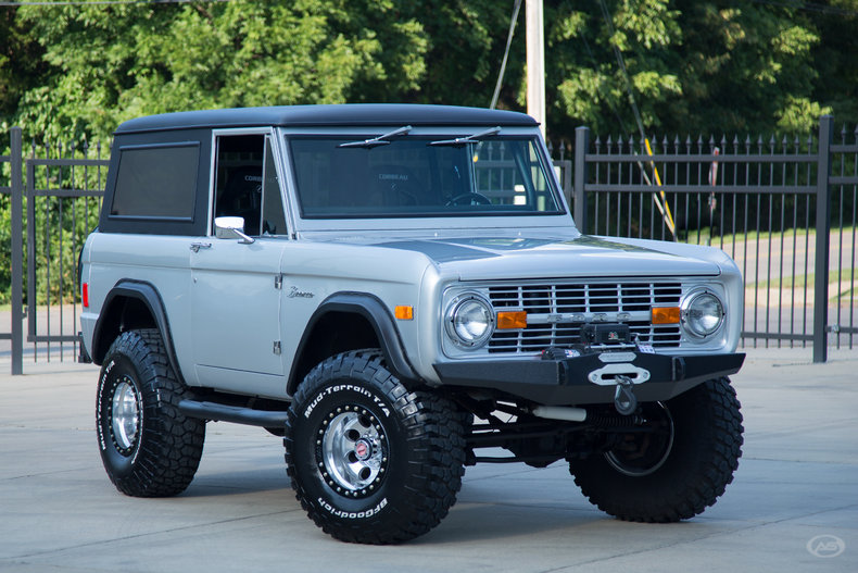 1977 Ford Bronco Art Amp Speed Classic Car Gallery In