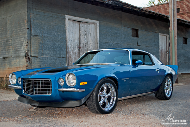 1971 Chevrolet Camaro Art Amp Speed Classic Car Gallery In