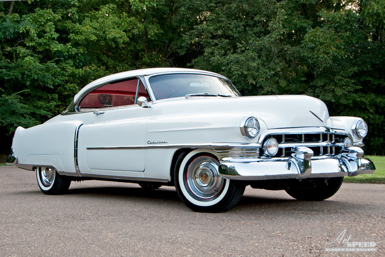 1950 Cadillac Coupe Deville Art Amp Speed Classic Car Gallery In Memphis Tn