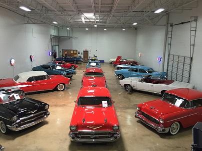 Classic Car Storage in Memphis TN