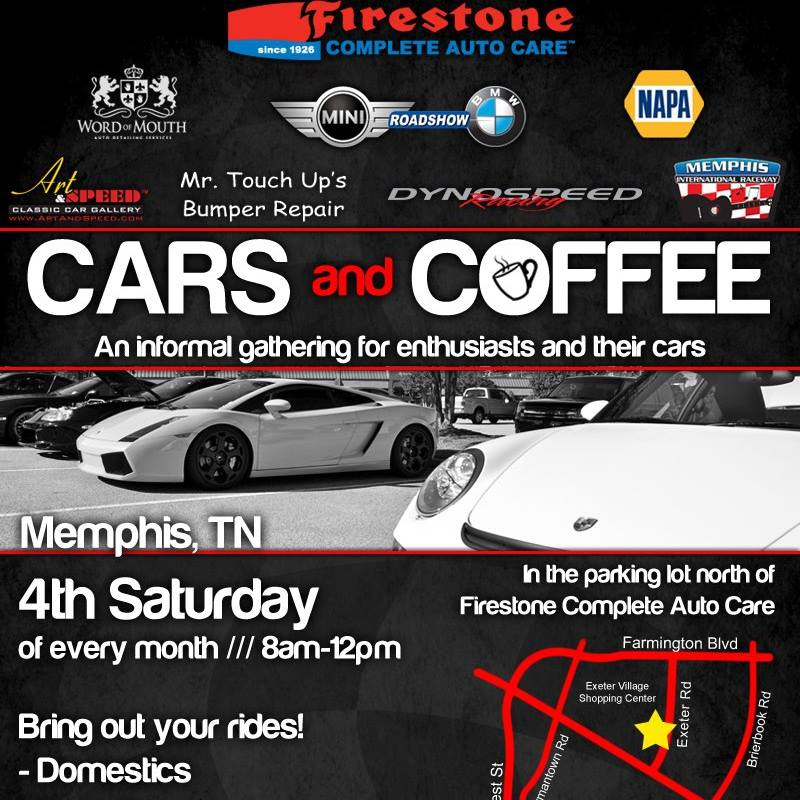 Cars And Coffee | Art & Speed Classic Car Gallery in Memphis, TN
