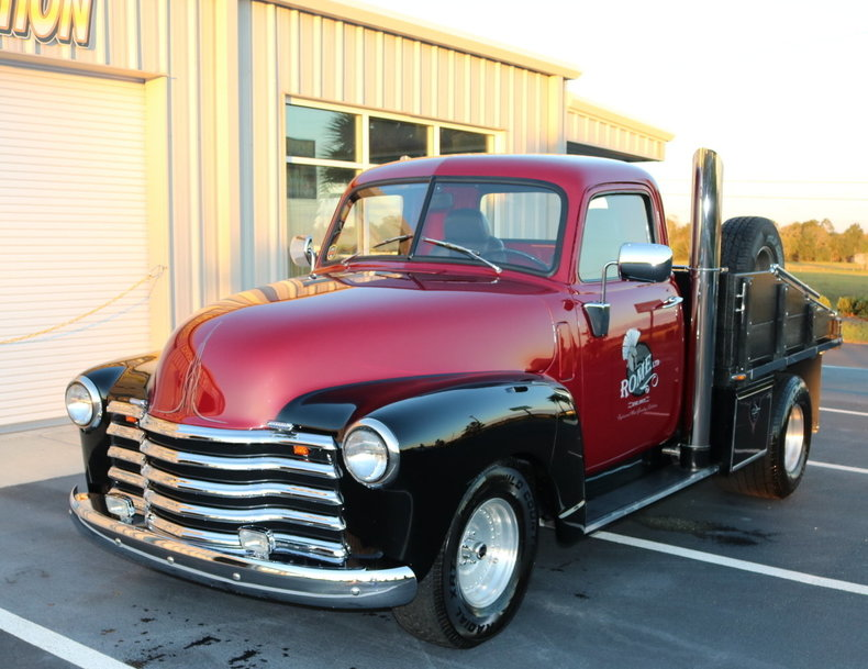 1948 chevrolet 3 4 ton pickup burnyzz american classic horse power. Black Bedroom Furniture Sets. Home Design Ideas