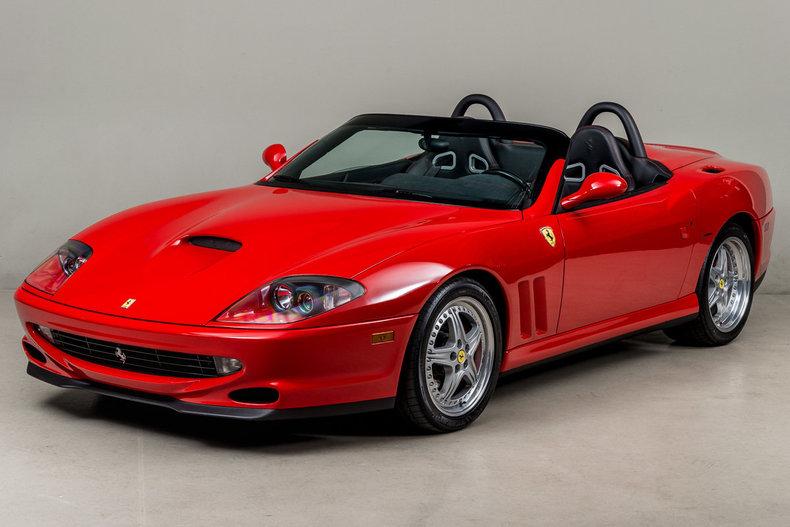 2001 Ferrari 550 Barchetta_5345