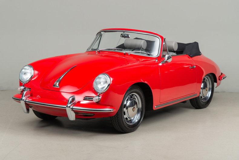 1965 Porsche 356 SC Cabriolet_5575