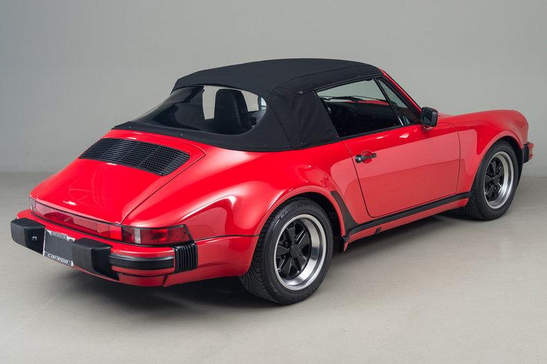 1987 1987 Porsche 911 Cabriolet For Sale