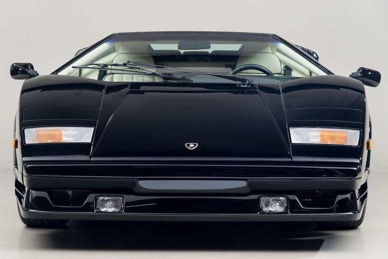 1989 lamborghini countach 25th anniversary edition 4939. Black Bedroom Furniture Sets. Home Design Ideas