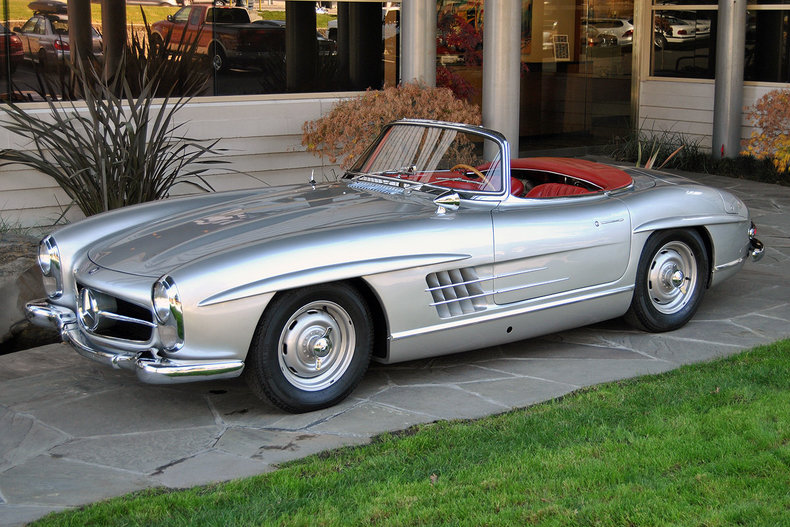 1957 Mercedes-Benz 300SL Roadster_4573
