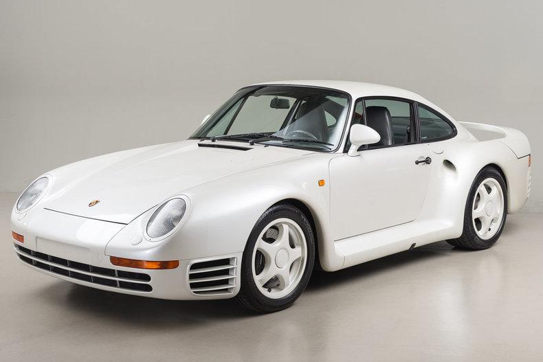 1988 Porsche 959 Pearl White_4685