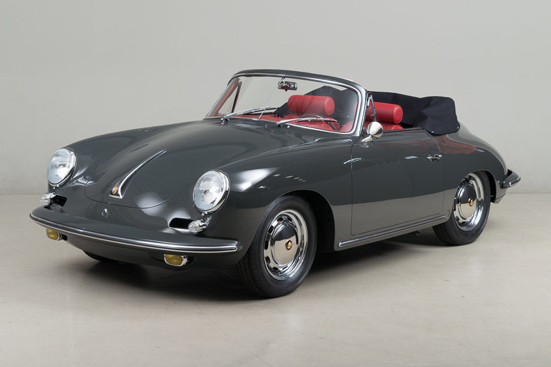 1964 Porsche 356 Carrera 2 Cabriolet_4201