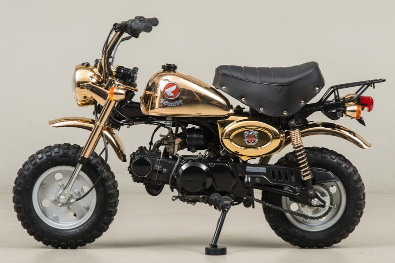 1996 Honda Z50J Gold Monkey_4998